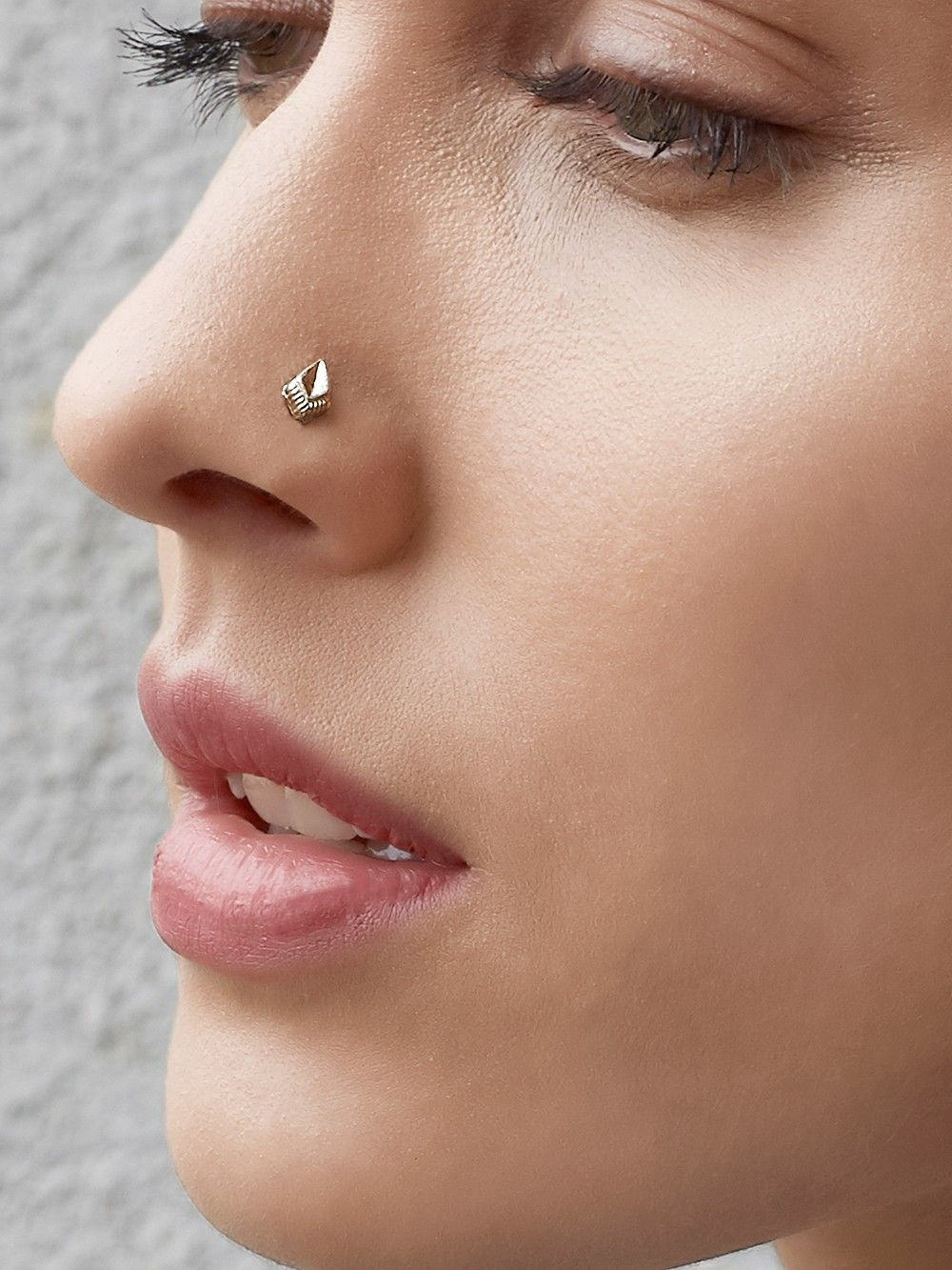 Buy Silver Contemporary Nose Pin Online At Theloom