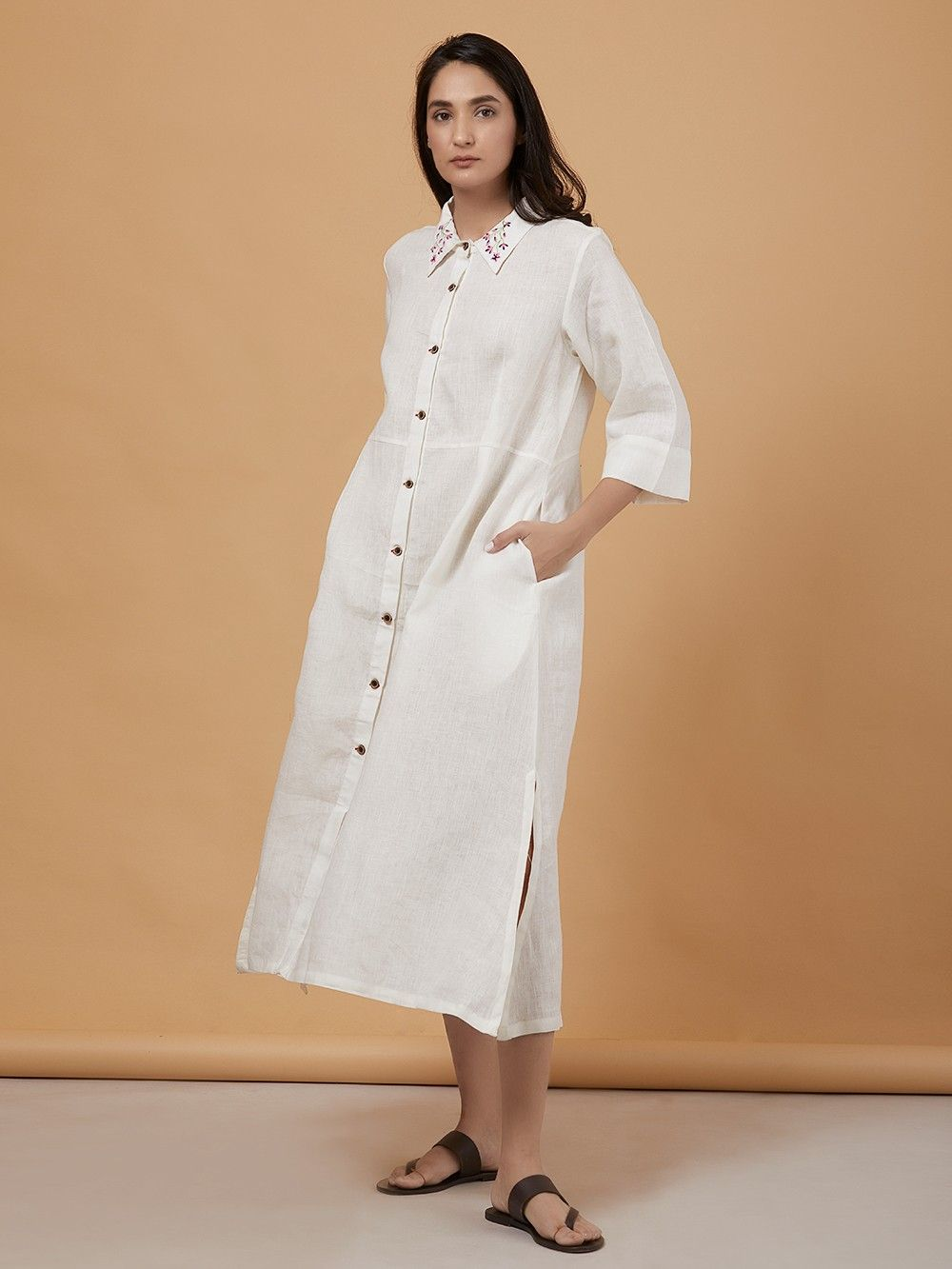 white linen shirt how to wear