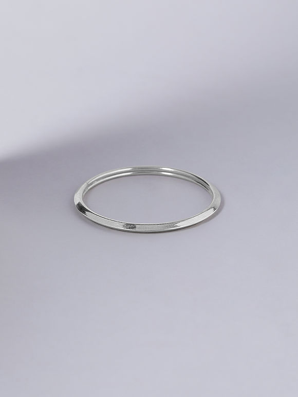 Tribal Handcrafted Silver Bangle