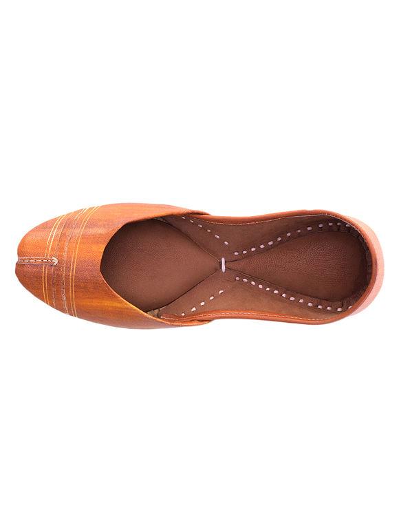 Tan Leather Jutties