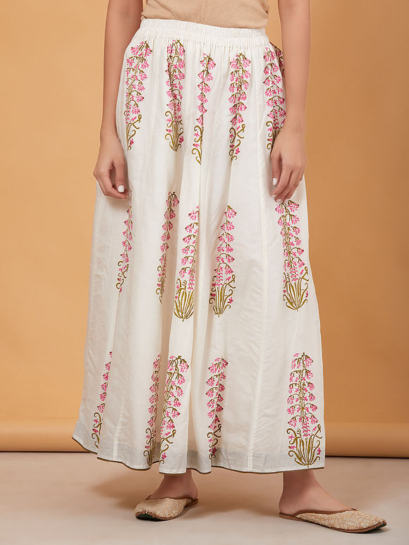 a346903f9fa4 Skirts Online : Buy Stylish Long Skirts For Women Online - The Loom