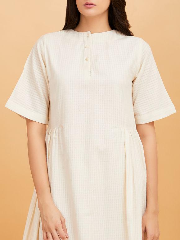 White Midi Cotton Dress