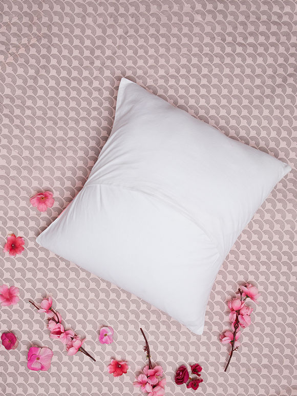 Indigo Hand Embroidered Cotton Cushion Cover