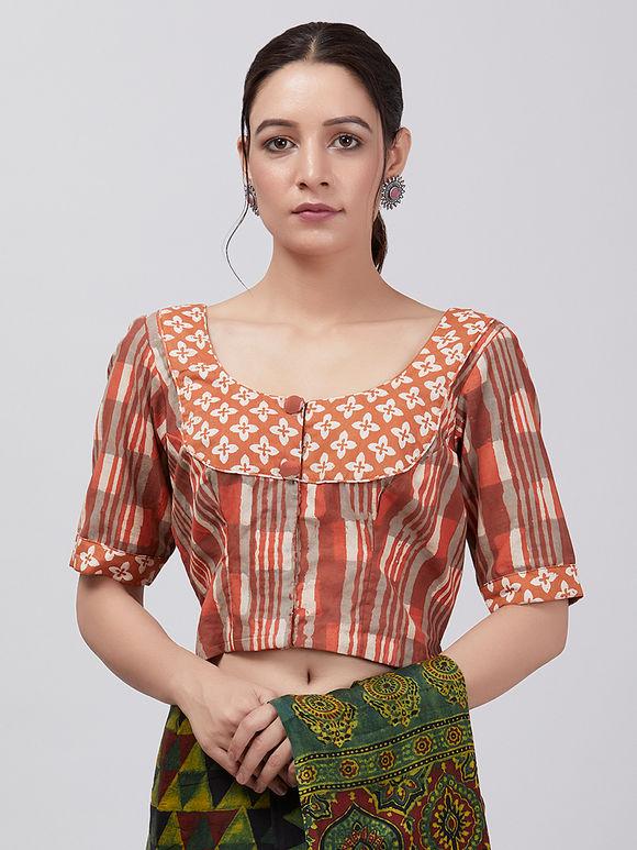 112a52edc5483c Saree Blouse : Buy Designer Blouses for Women Online - The Loom